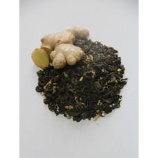 Чай зеленый с имбирем и медом